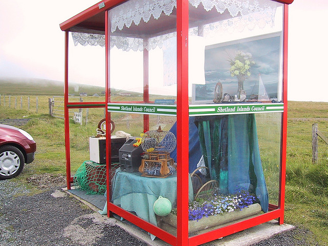 Unst Bus Shelter by Birdfarm