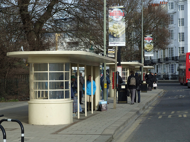 Bus Stops by Sam Kelly